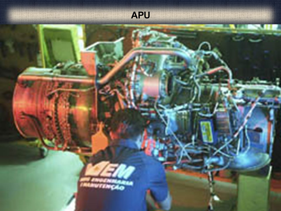 APU Os arranques de turbina a ar são projetados para proverem alto torque na partida de uma fonte pequena e de peso leve.
