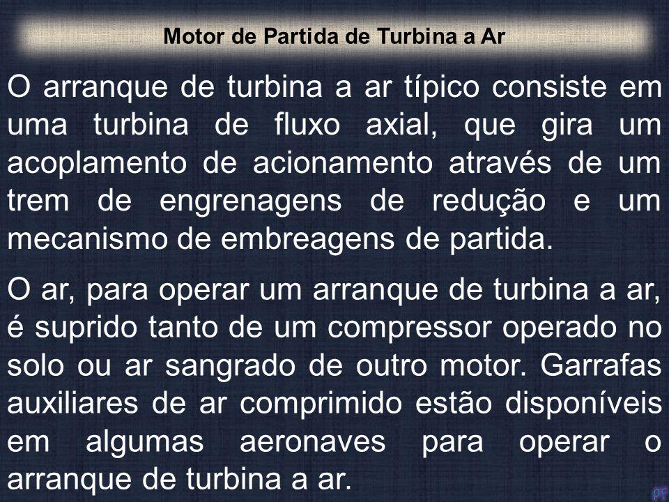Motor de Partida de Turbina a Ar