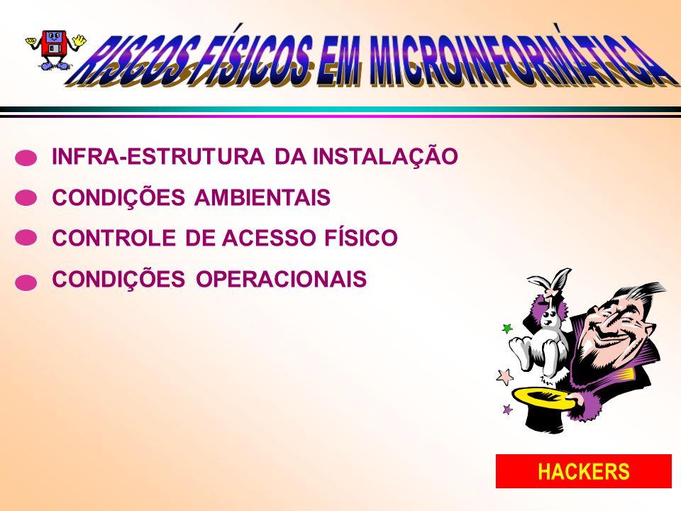 RISCOS FÍSICOS EM MICROINFORMÁTICA