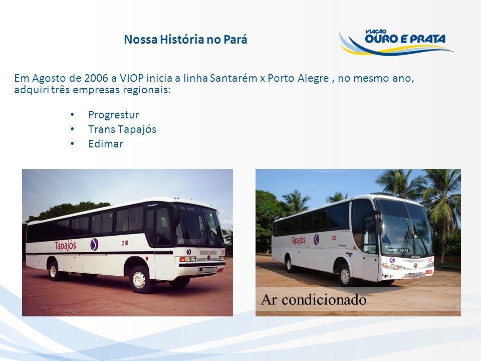 Ar condicionado Nossa História no Pará