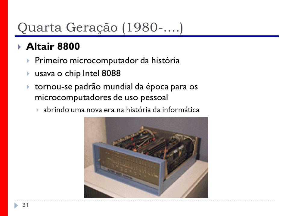 Quarta Geração (1980-....) Altair 8800