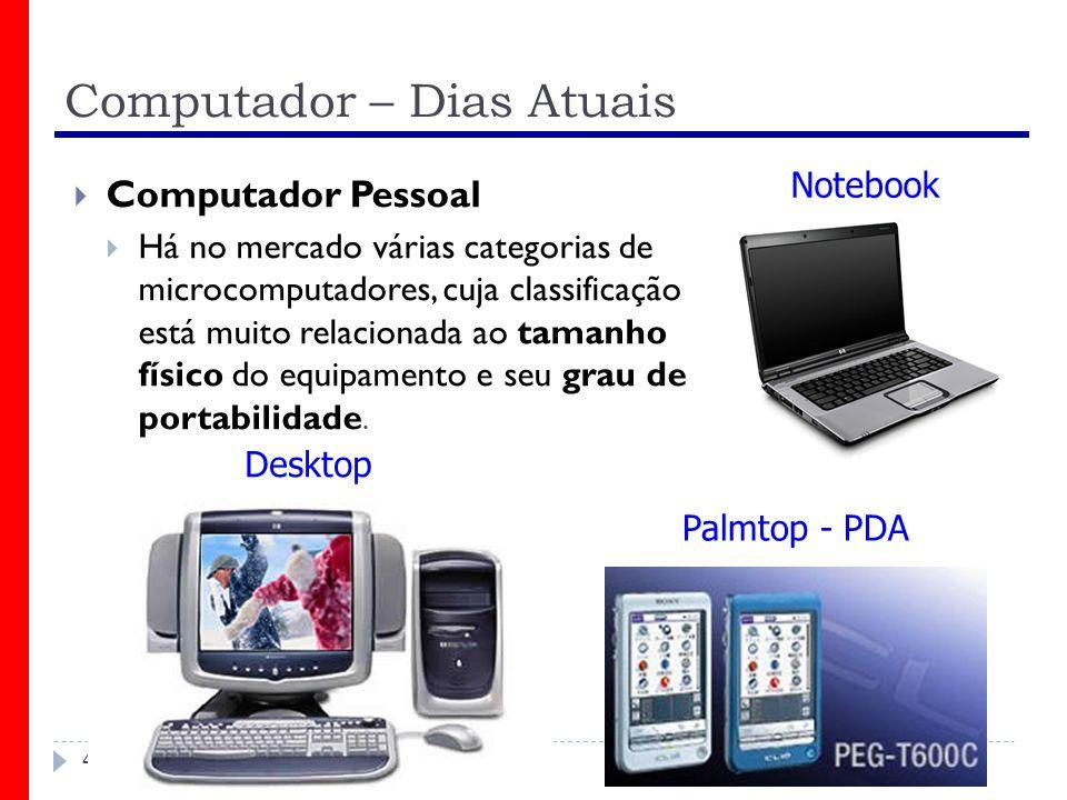 Computador – Dias Atuais