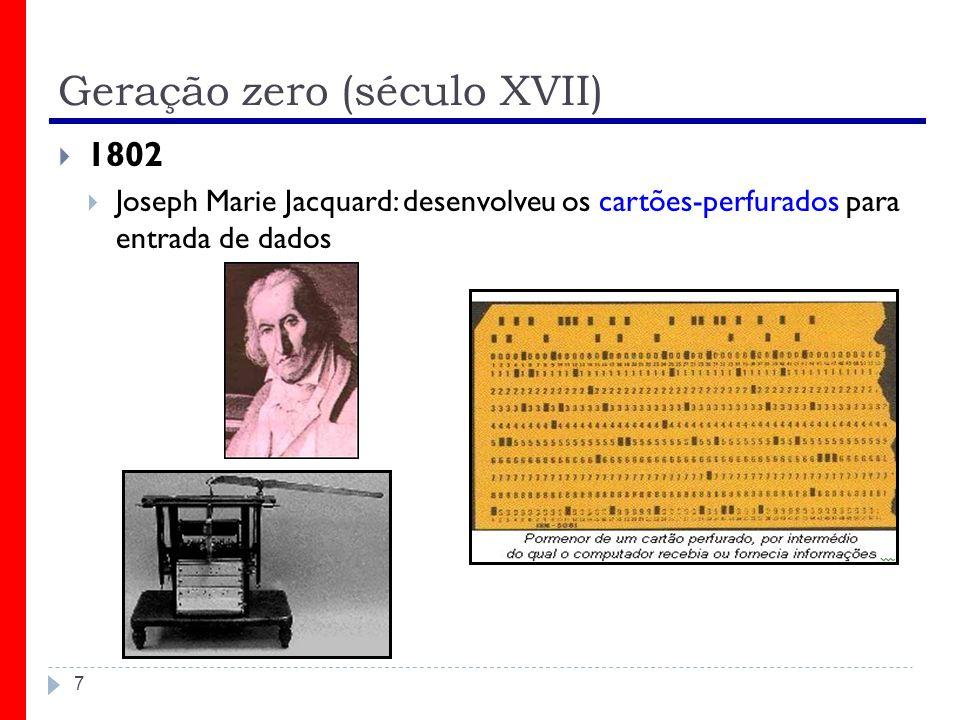 Geração zero (século XVII)