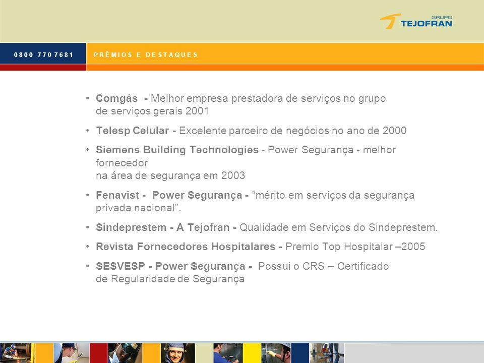 Telesp Celular - Excelente parceiro de negócios no ano de 2000