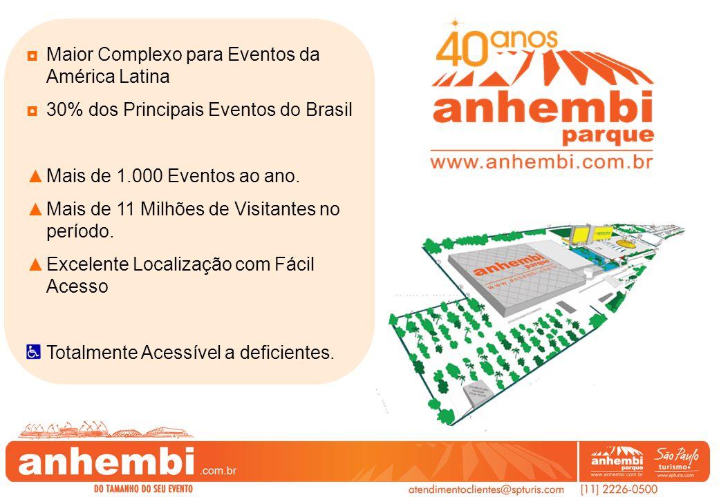 Maior Complexo para Eventos da América Latina