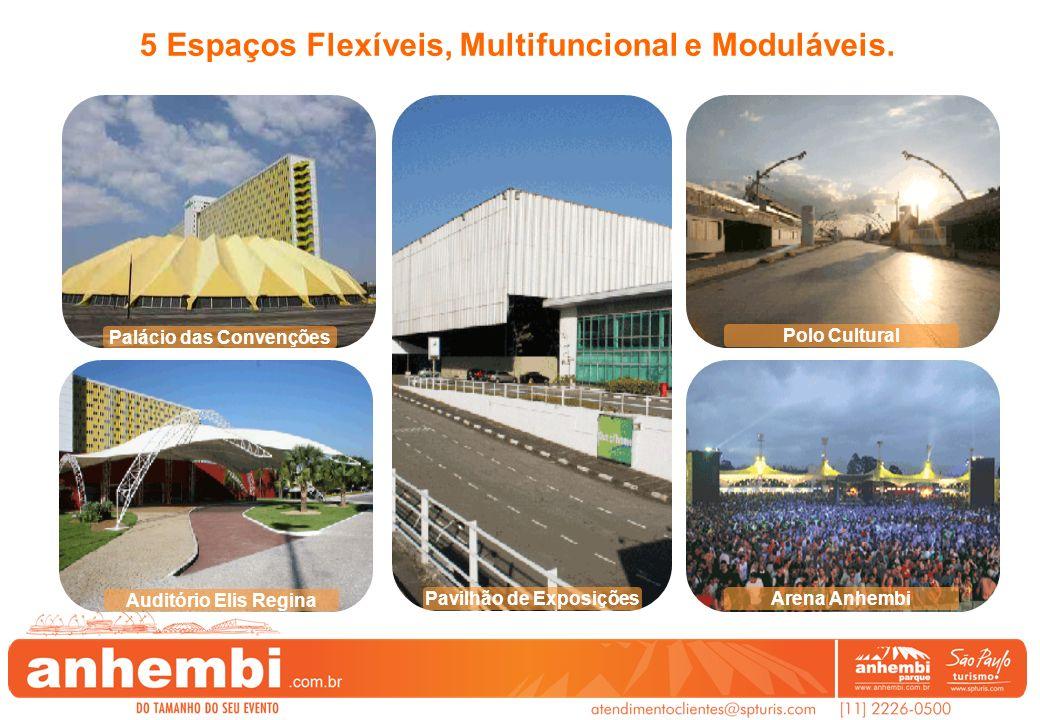 Palácio das Convenções Pavilhão de Exposições