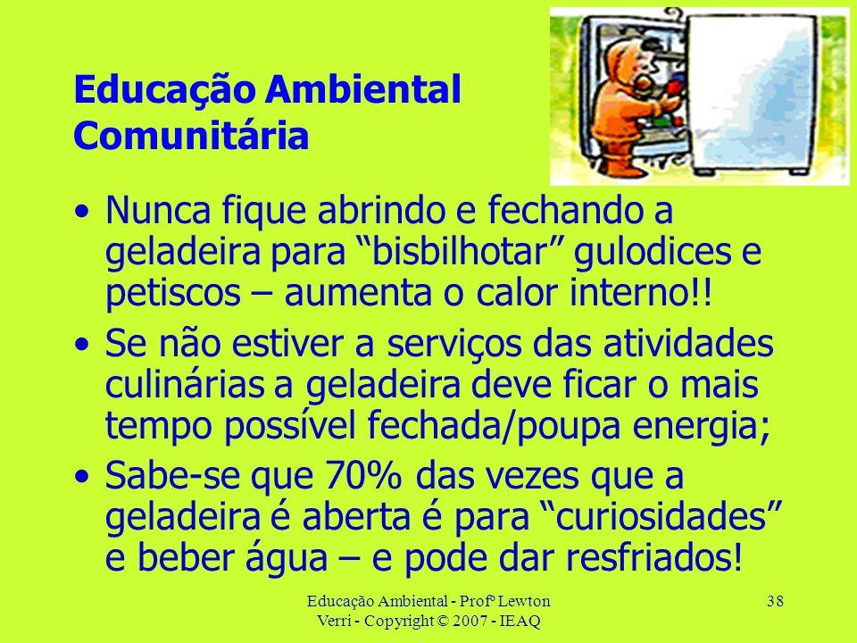 Educação Ambiental Comunitária