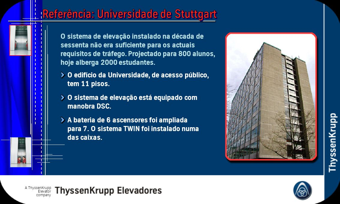 Referência: Universidade de Stuttgart