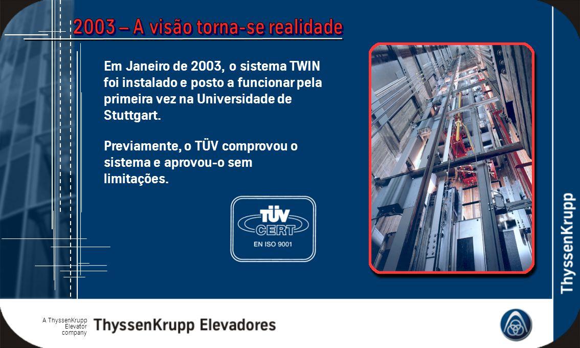 2003 – A visão torna-se realidade
