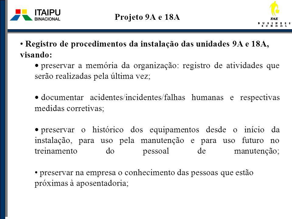 Projeto 9A e 18A