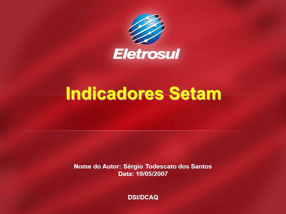 Nome do Autor: Sérgio Todescato dos Santos