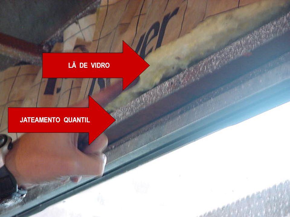 LÃ DE VIDRO JATEAMENTO QUANTIL