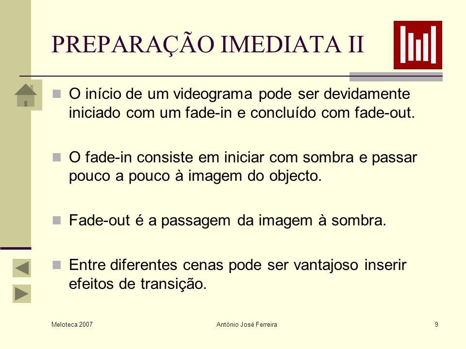 PREPARAÇÃO IMEDIATA II