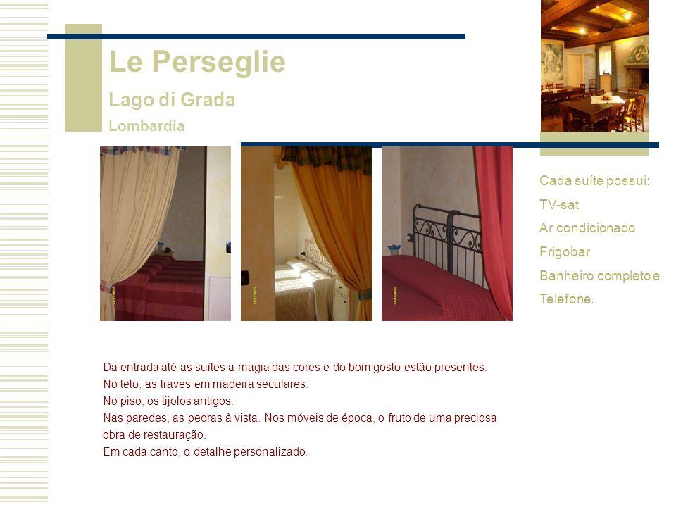 Le Perseglie Lago di Grada Lombardia Cada suíte possui: TV-sat