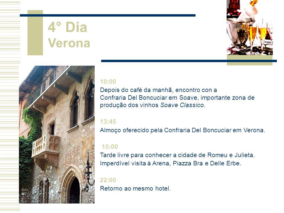 4° Dia Verona. 10:00.