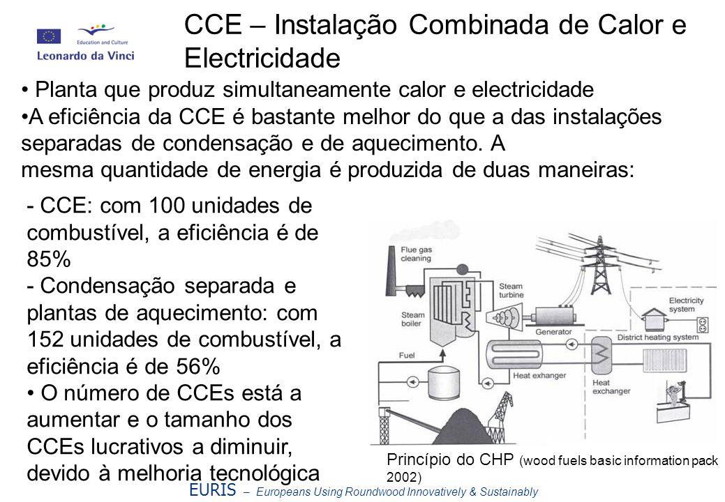 CCE – Instalação Combinada de Calor e Electricidade