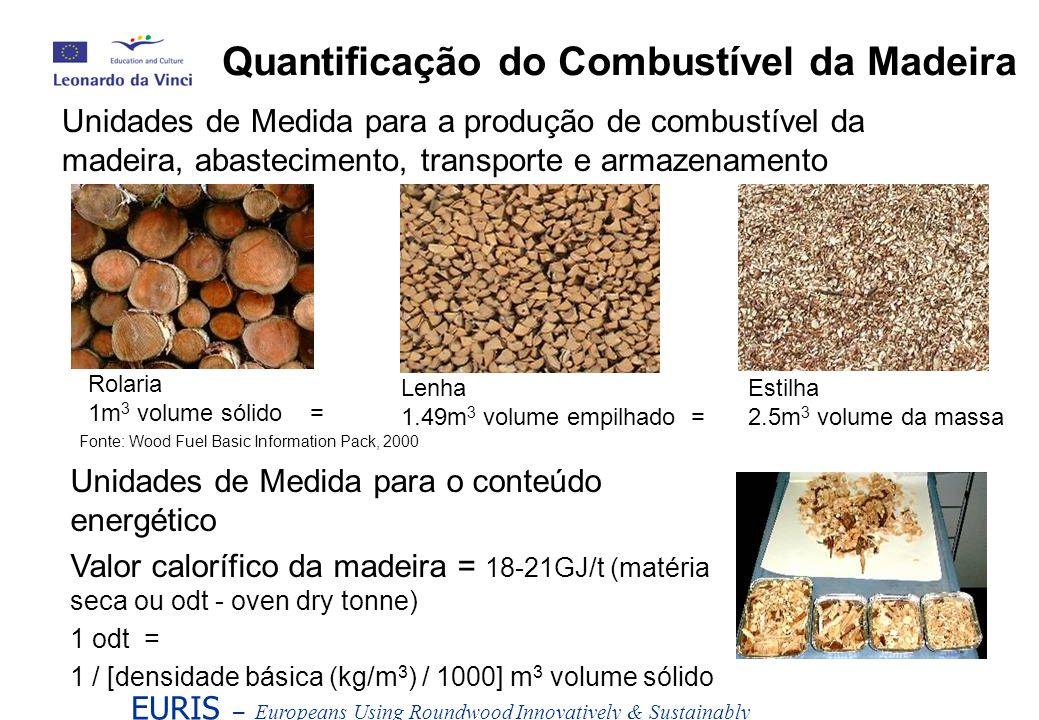 Quantificação do Combustível da Madeira
