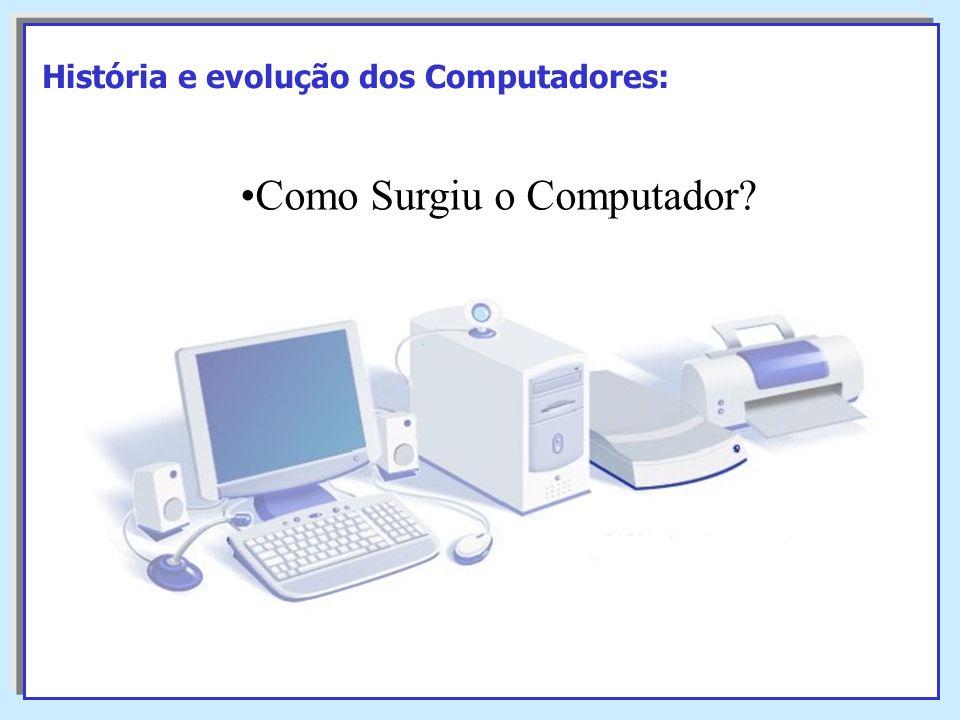 Como Surgiu o Computador