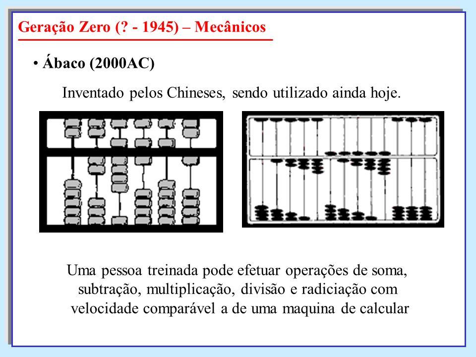 Geração Zero ( - 1945) – Mecânicos