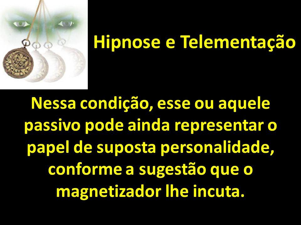 Hipnose e Telementação