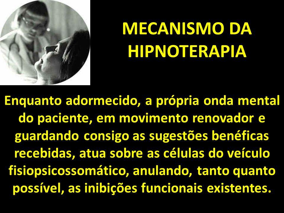 MECANISMO DA HIPNOTERAPIA