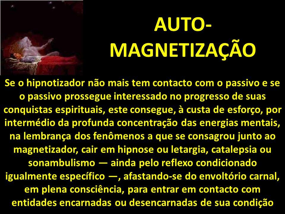 AUTO-MAGNETIZAÇÃO