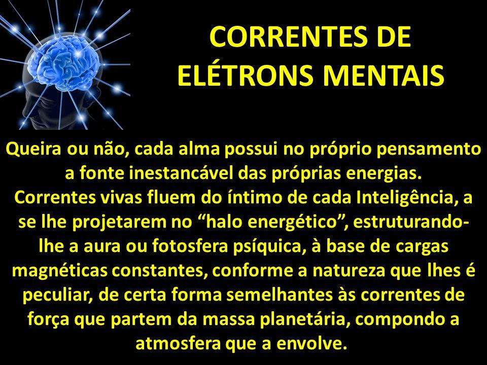 CORRENTES DE ELÉTRONS MENTAIS