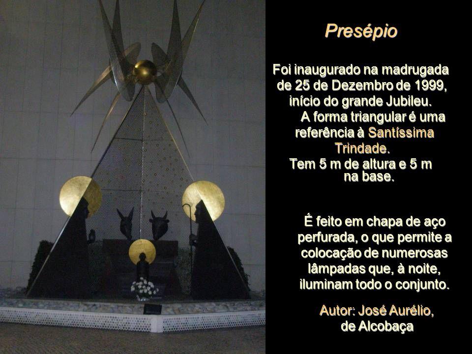 Presépio Foi inaugurado na madrugada de 25 de Dezembro de 1999,