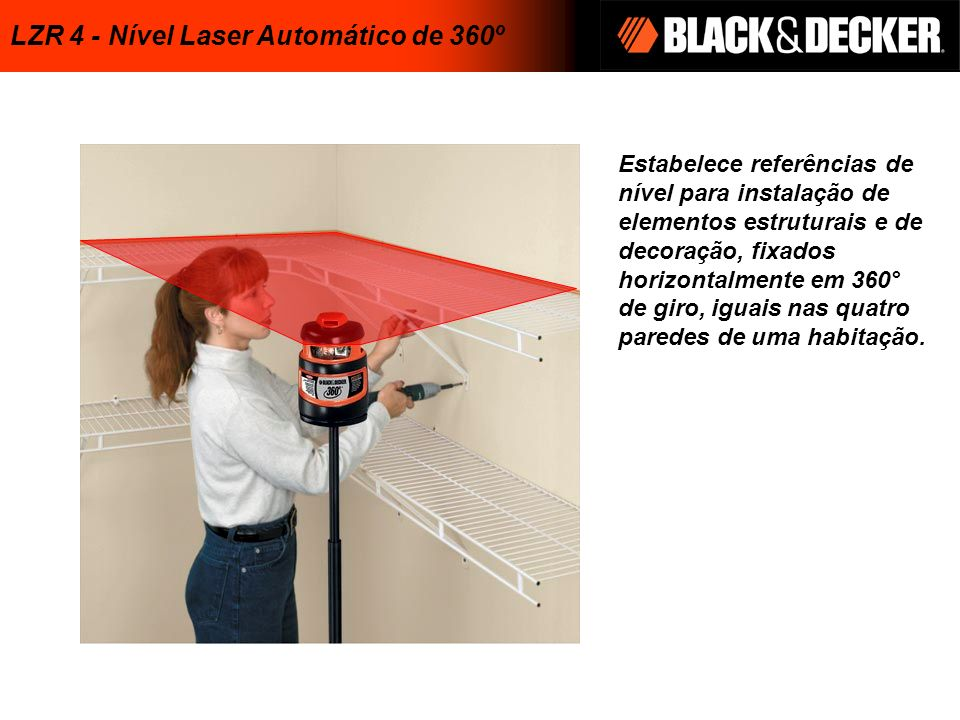 LZR 4 - Nível Laser Automático de 360º