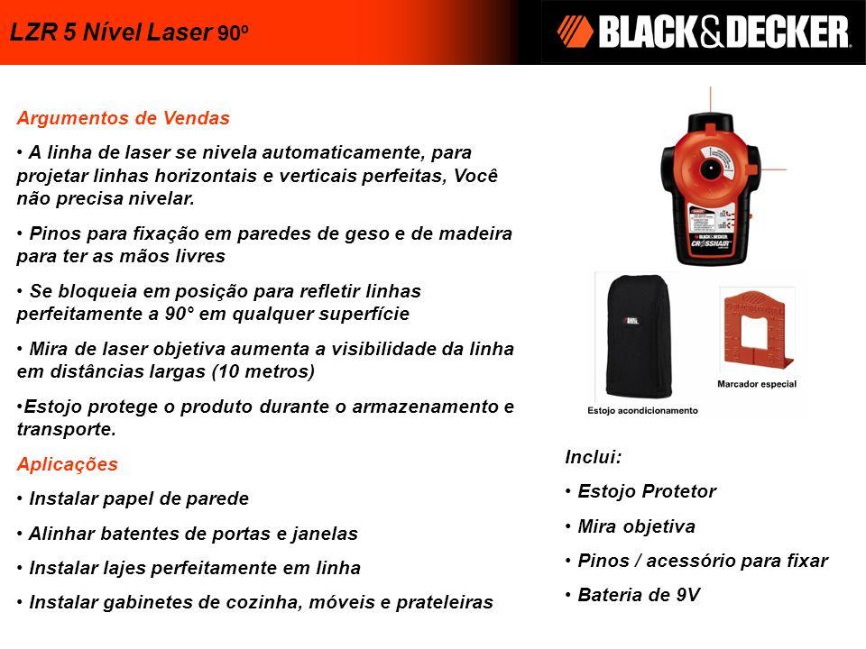 LZR 5 Nível Laser 90º Argumentos de Vendas