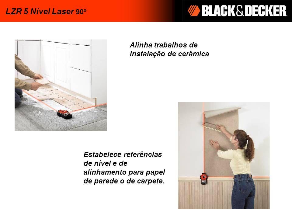 LZR 5 Nível Laser 90º Alinha trabalhos de instalação de cerâmica
