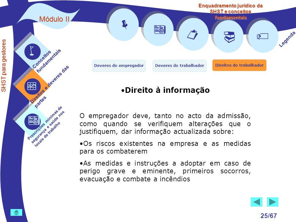        Módulo II Direito à informação
