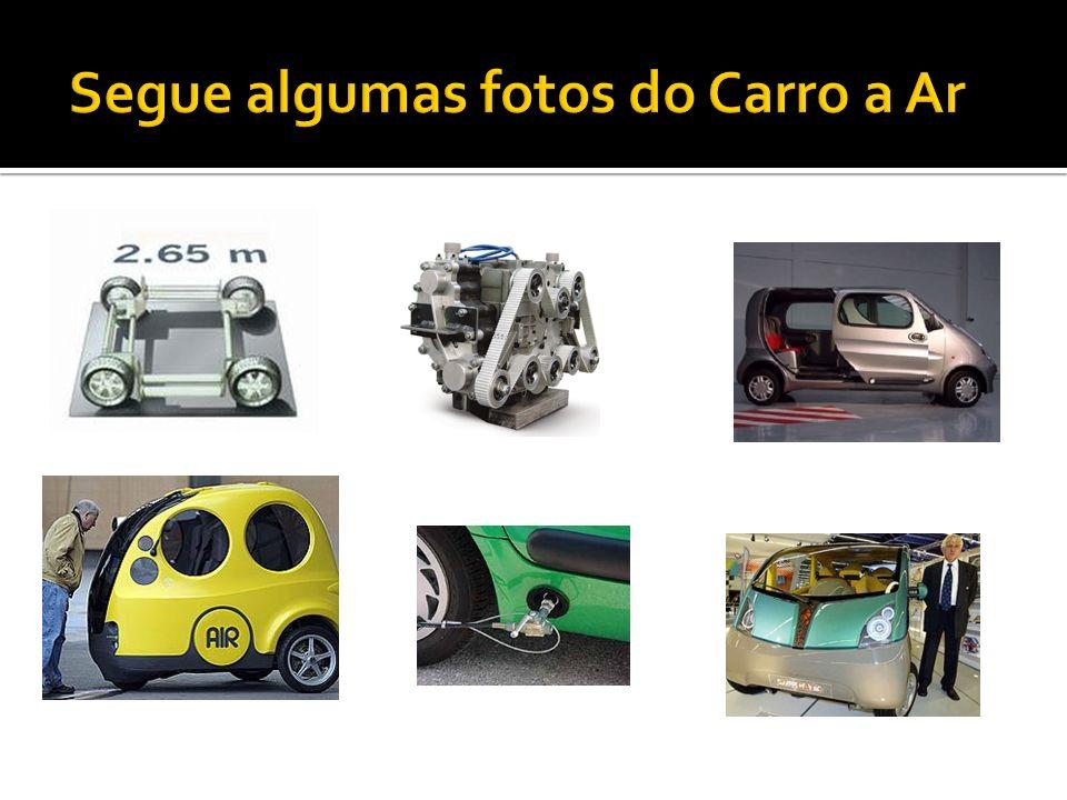 Segue algumas fotos do Carro a Ar
