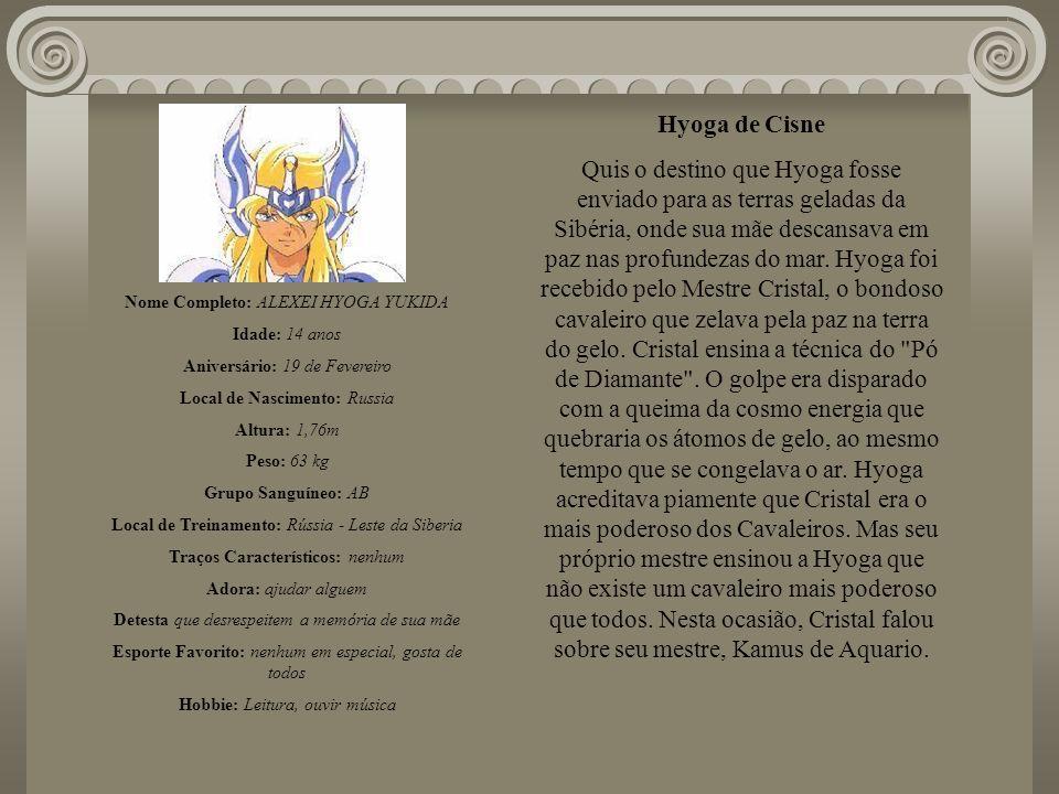 Hyoga de Cisne
