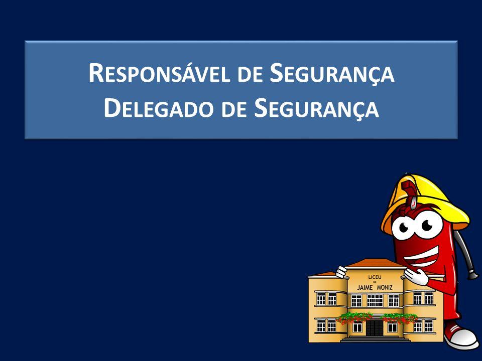 Responsável de Segurança Delegado de Segurança