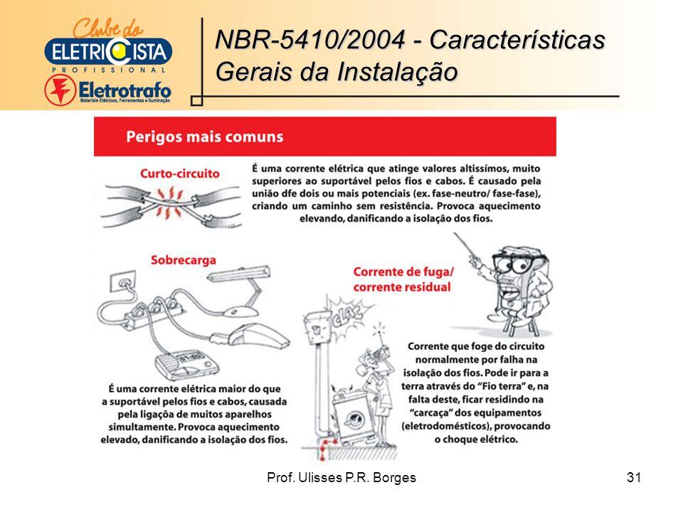 NBR-5410/2004 - Características Gerais da Instalação