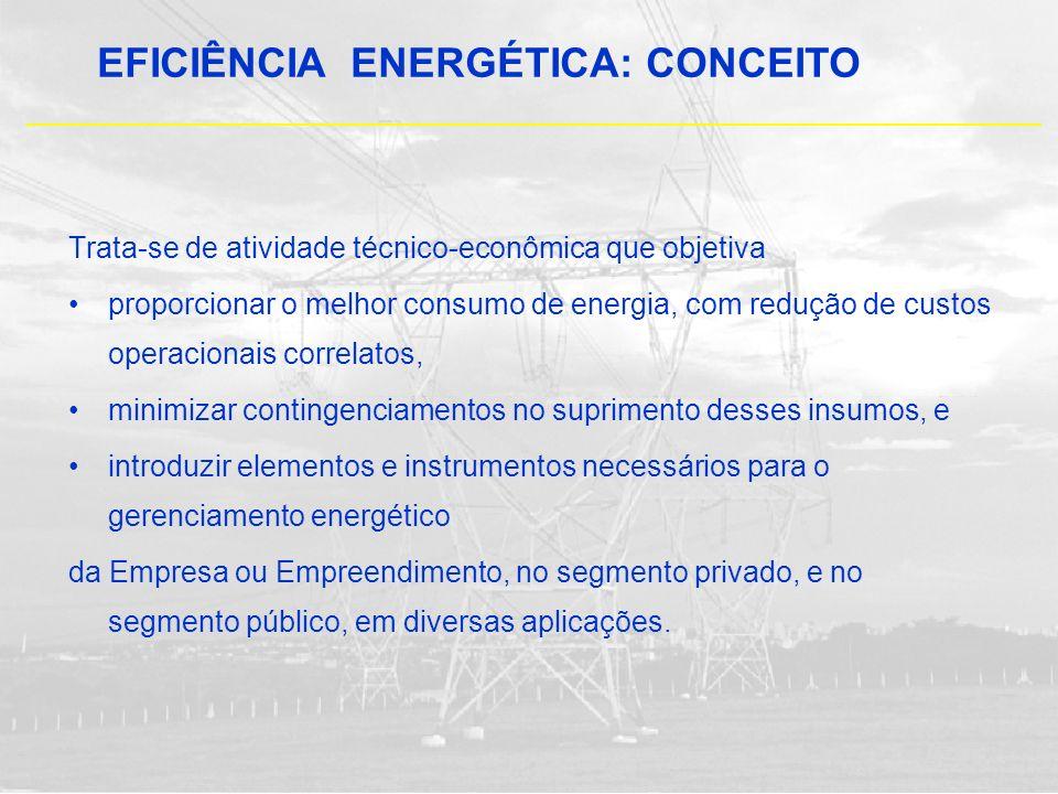 EFICIÊNCIA ENERGÉTICA: CONCEITO