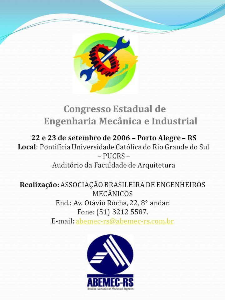 Engenharia Mecânica e Industrial