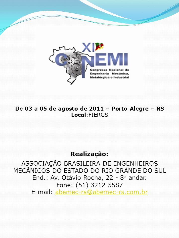 End.: Av. Otávio Rocha, 22 - 8° andar. Fone: (51) 3212 5587
