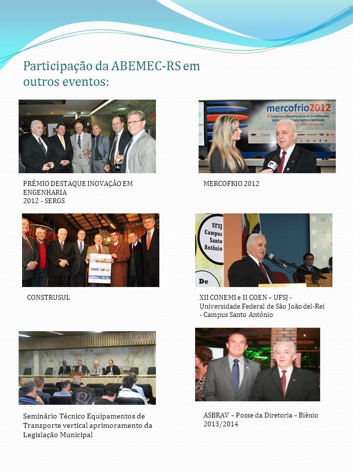 Participação da ABEMEC-RS em outros eventos: