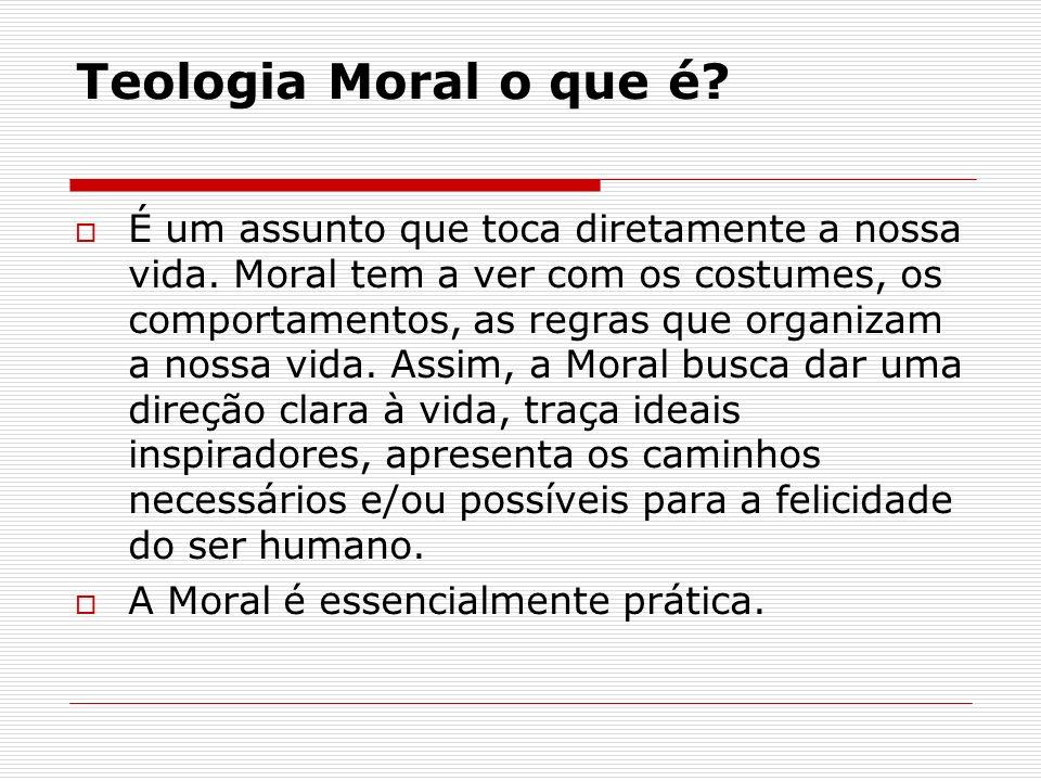 Teologia Moral o que é