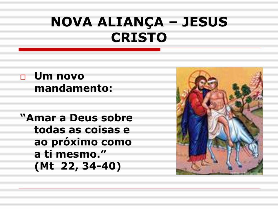 NOVA ALIANÇA – JESUS CRISTO