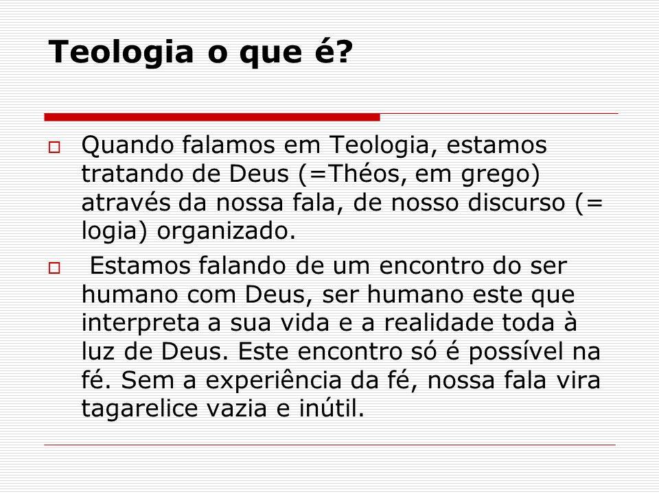 Teologia o que é