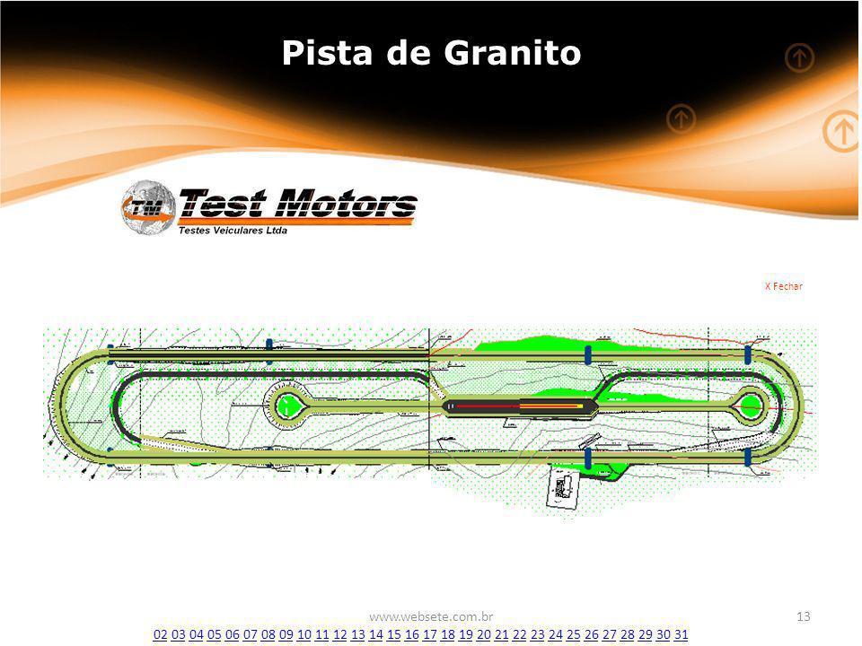 Pista de Granito www.websete.com.br