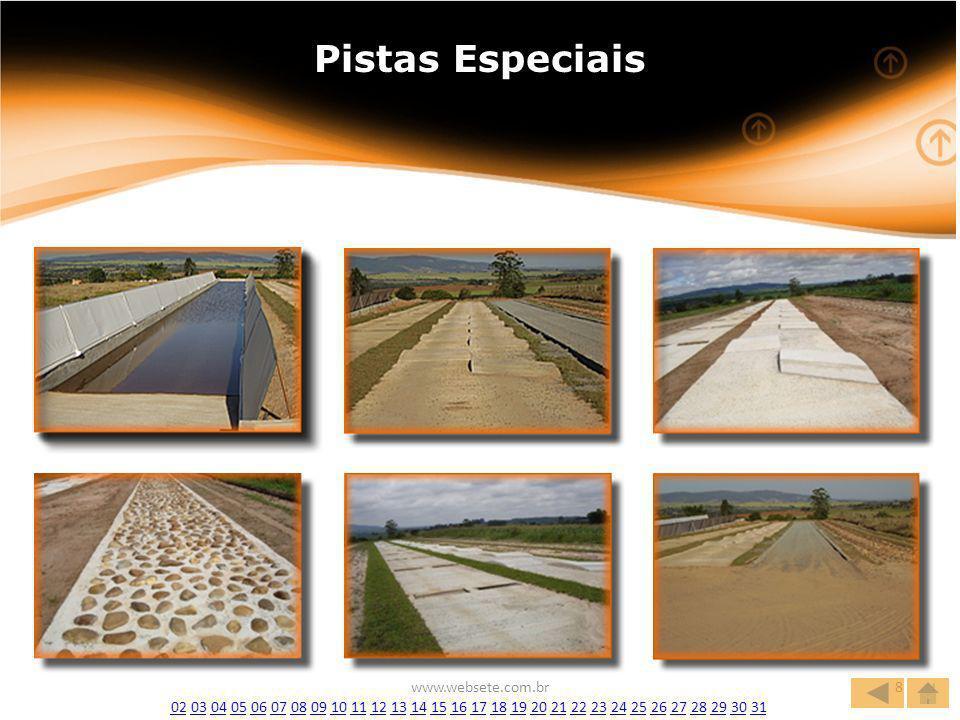 Pistas Especiais www.websete.com.br