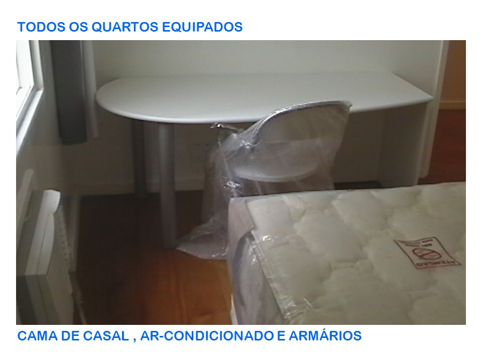 TODOS OS QUARTOS EQUIPADOS