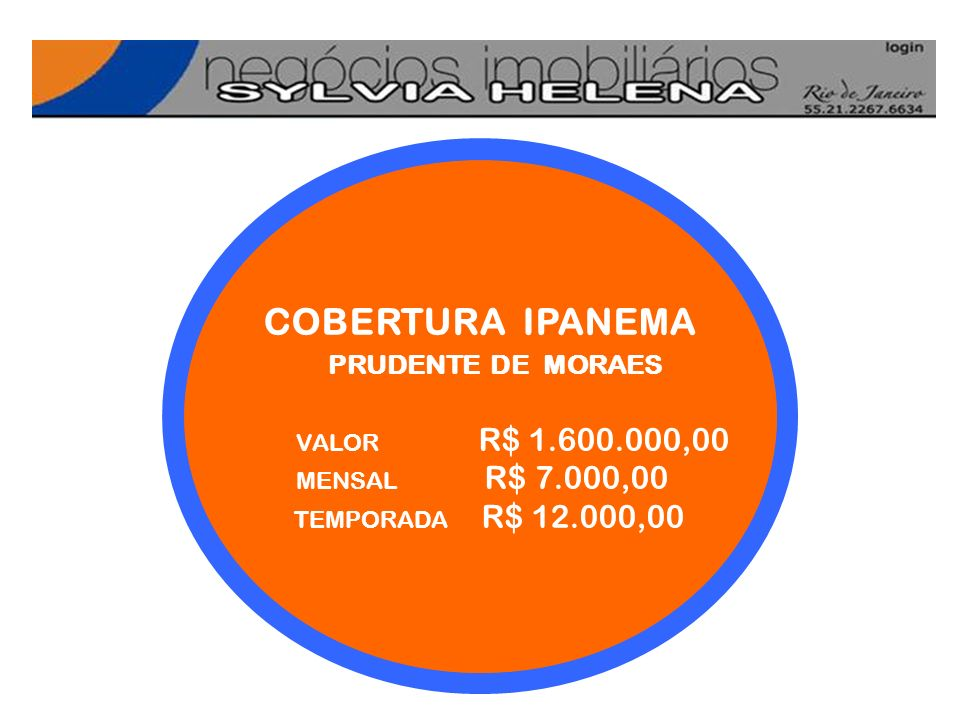 COBERTURA IPANEMA COBERTURA IPANEMA PRUDENTE DE MORAES