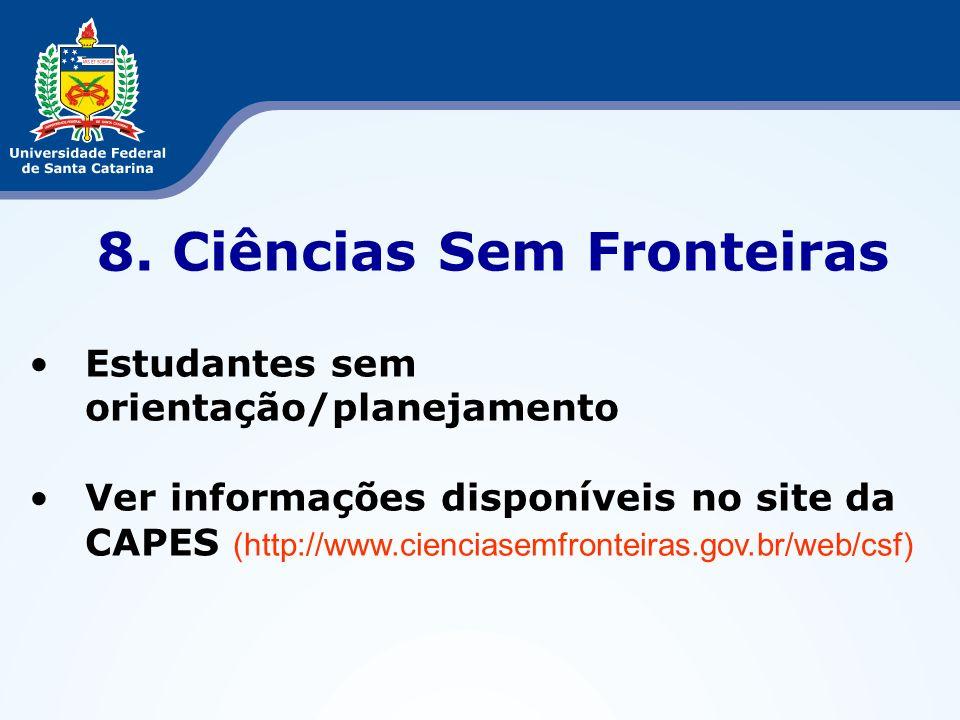 8. Ciências Sem Fronteiras