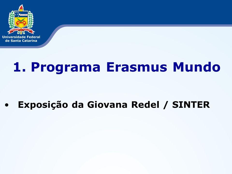 Programa Erasmus Mundo