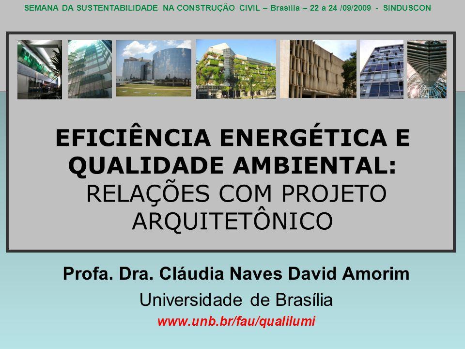 Profa. Dra. Cláudia Naves David Amorim